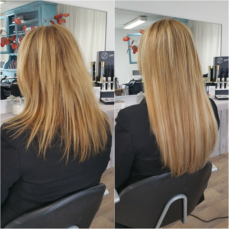 Bonding hairextensions