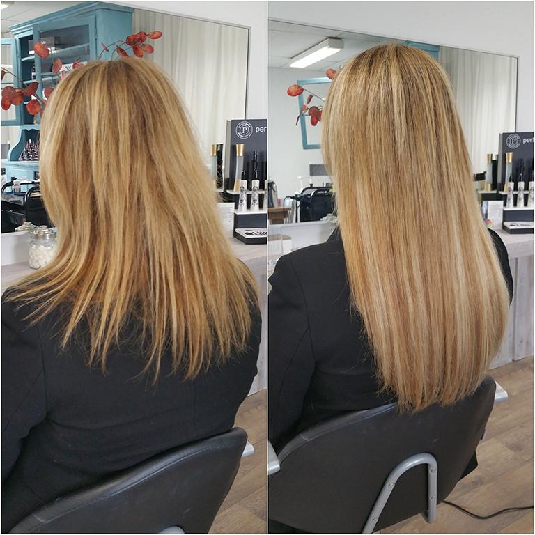 Bonding hairextensions